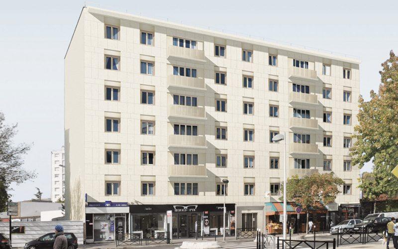 Réhabilitation de la résidence 21 rue de Colombes
